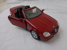 Vintage 1996 Mercedes Benz  SLK 230 1/18 Scale Diecast Car Model