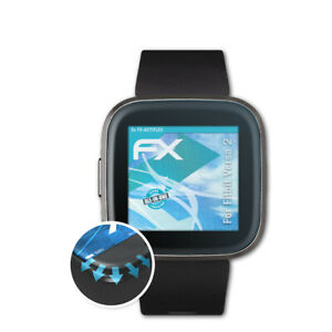 atFoliX-3x-Lamina-Protectora-para-Fitbit-Versa-2-transparente-amp-flexible