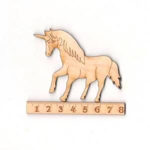 Einhorn Aus Holz 8cm Basteln Mit Kindern Kreatives Gestalten Pferd