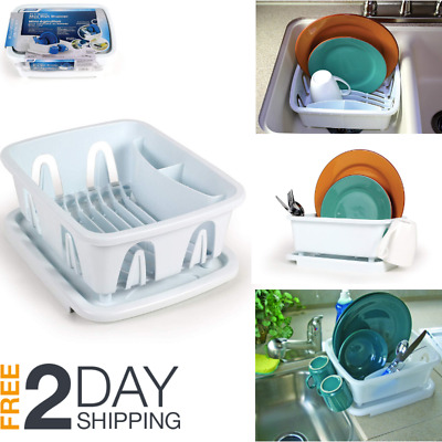 Mini Dish Drainer Tray Rack For Rv Sinks Marine Storage Home Small Space Kitchen 744890946207 Ebay