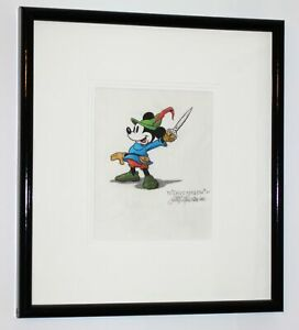 Walt-Disney-Hyperion-Studio-Animator-Drawing-Mickey-Mouse-Brave-Little-Tailor