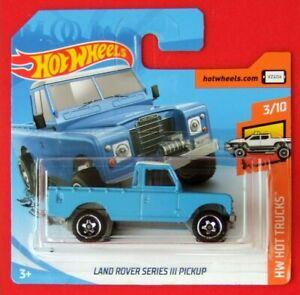 Hot-Wheels-2019-Land-Rover-Series-III-pickup-111-250-neu-amp-ovp