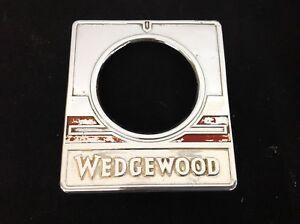 Details about VINTAGE STOVE PARTS 40's Wedgewood Antique Gas Range  Thermostat Knob Dial TRIM