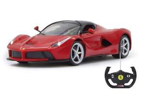 Jamara Jamara404130 Voiture miniature Ferrari Laferrari Deluxe, échelle 40: 40, rouge