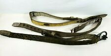 Lot Of 3 Vintage Miller Safety Belts Harness Or Fall Protection Climbing 48