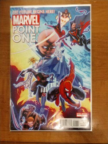 First App Sam Alexander Nova Marvel Comics Marvel Point One #1 2012