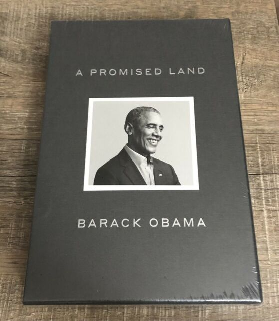 A Promised Land: Deluxe Signed Edition Hardcover Book by President Barack Obama