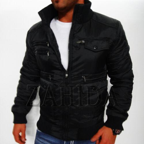 Giacca motociclista motociclista nera Giacca motociclista Giacca Parka da Giacca da Novità uomo Zahida invernale da da arqaw1x54
