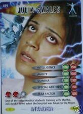DR WHO INVADER CARD 499 JULIA SWALES  - MINT !!