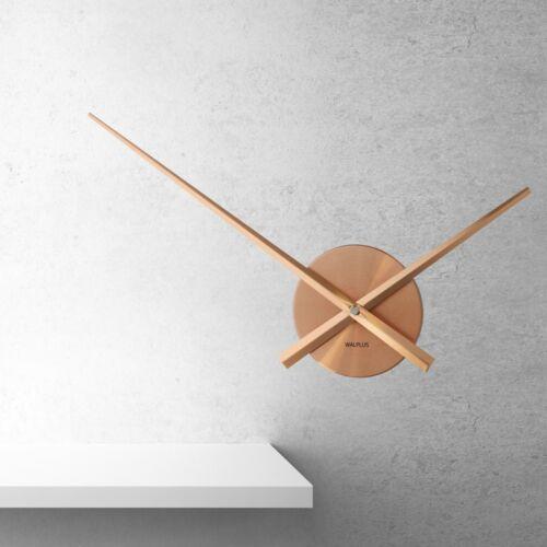 Walplus Designer Flexi Minimal Wall Clock Copper Hallway Home Room Decorations