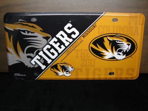 University Of Missouri Tigers Metal Neuheit Auto Kennzeichen Mizzou Zou Tigers