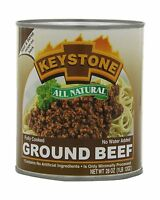 Keystone Meats All Natural Ground Beef 28 Ounce Free Shipping