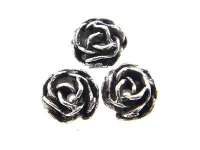 Rose Element Fits 8.5mm 39ss Empty Chain 12 Pieces - Choose Finish