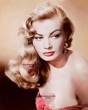 Anita Ekberg, Celebrity 1950's Movie Star 8X10 GLOSSY PHOTO PICTURE IMAGE ae6