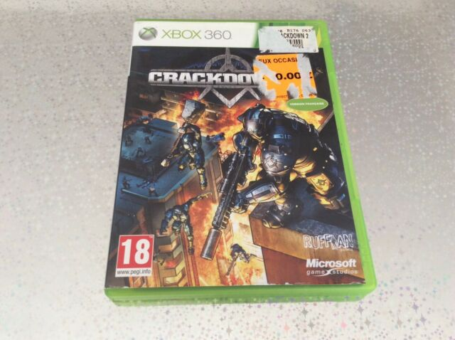 XBOX Crackdown 2 XBOX 360 MICROSOFT PAL FR COMPLET