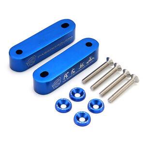 New-JDM-Blue-Billet-Hood-Vent-Spacer-Risers-Set-for-90-01-Integra-88-00-Civic