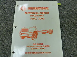 [QNCB_7524]  1991 1992 International 3600 3700 Bus Chassis Electrical Wiring Diagram  Manual | eBay | International Bus Wiring Diagrams |  | eBay