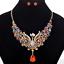 Fashion-Elegant-Women-Rhinestone-Crystal-Choker-Bib-Statement-Pendant-Necklace thumbnail 51