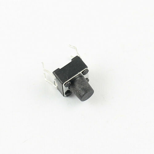 100Pcs Momentary Tactile Tact Push Button Switch 4 Pin DIP 6x6x7mm High 7mm
