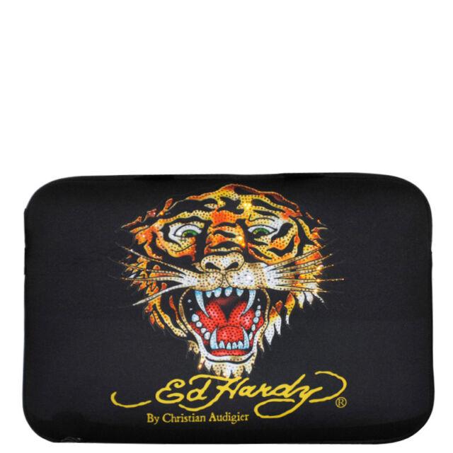 380ea20dbec9 Ed Hardy Black Tiger Bill Laptop Sleeve Small