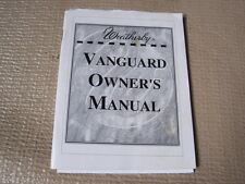 WEATHERBY VANGUARD RIFLE OWNERS OPERATING MANUAL