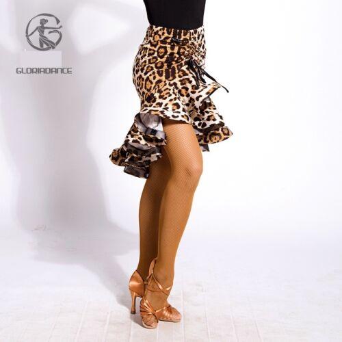 New Latin Dance Dress Tango Salsa Ballroom Competition Practice Skirt 3Color  G6