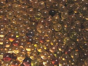 """MARBLE BULK LOT 2 LBS 9//16/"""" WHITE LUSTER FINISH CHAMPION MARBLES FREE SHIPPING"""