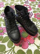 Y.R.U. YRU Black Spike Elevation Platform Sneakers Shoes Black sz 7.5 Goth Shoes