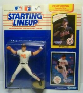 1990  JEFF BALLARD - Starting Lineup (SLU) Baseball Figurine - BALTIMORE ORIOLES