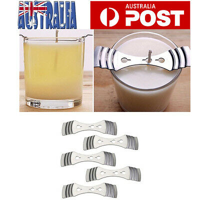Device Holder Candle Making Supplies 10*2.5cm Metal Candle Wick Centering MA
