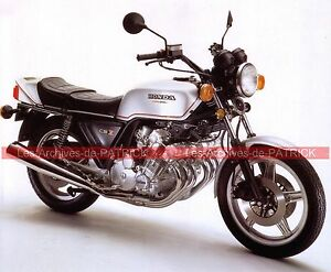 honda cbx 1000 cbx1000 6 cylindres 1979 fiche moto 000038 ebay. Black Bedroom Furniture Sets. Home Design Ideas