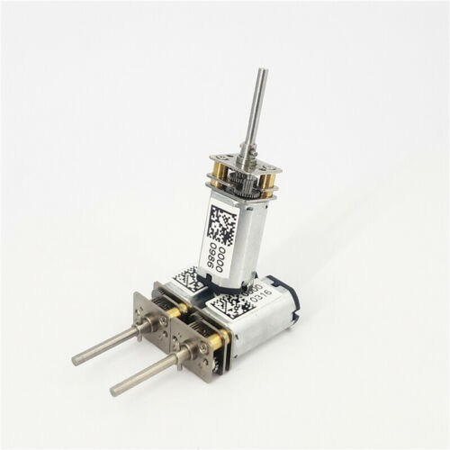 DC 3V 1200RPM N30 Mini Full Metal Gearbox Gear Motor 17mm Long Shaft DIY Robot