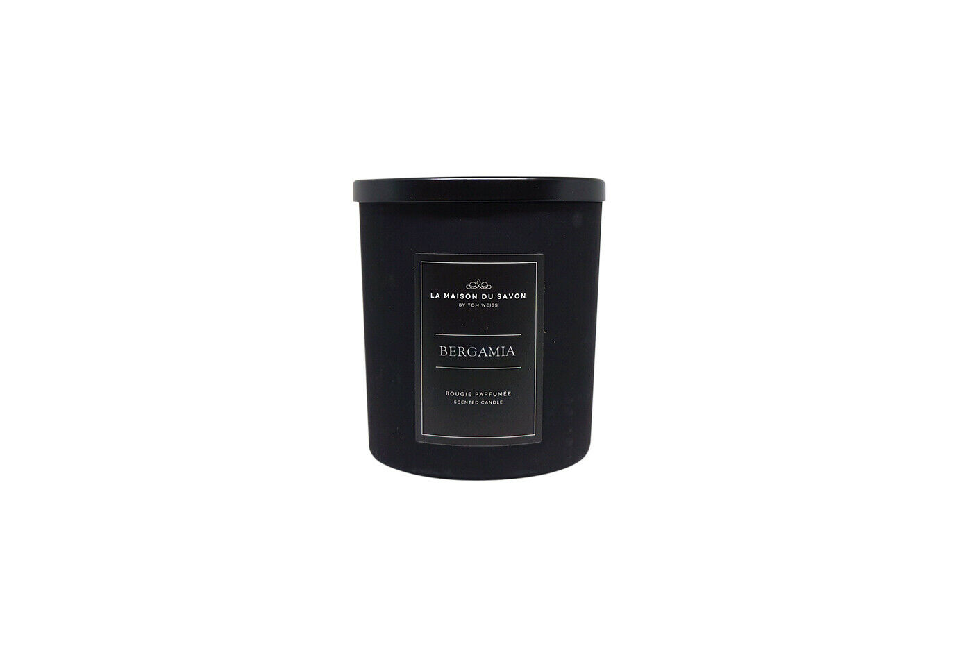 Bergamia Scented Candle natural wax 400g