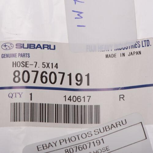OEM 1992-2004 Subaru Engine Coolant Hose Impreza Legacy Forester NEW 807607191