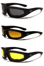 3 Pack – Para Hombre Conducción Conducción Gafas De Sol Choppers Motocicleta Acolchado UV400