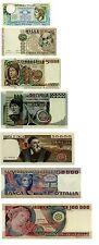 Italia 500,1000,5000,10000,20000,50000,100000 Lire Serie1974 (Riproduzione/copy)