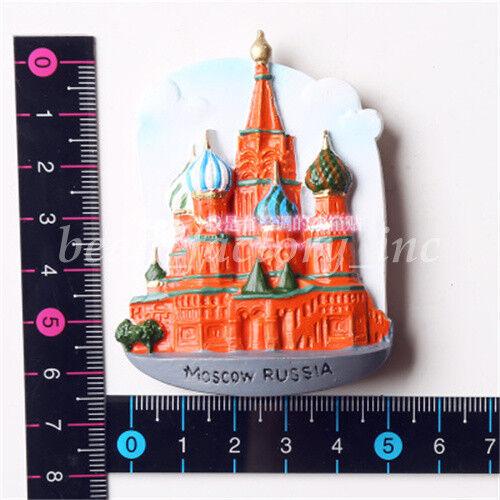 Tourist Travel Souvenir 3D Resin Fridge Magnet Creative Refrigerator Magnet New