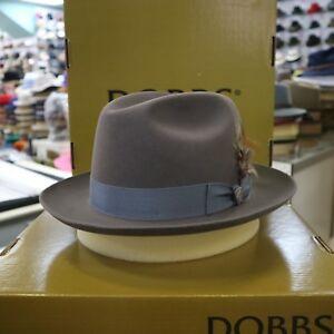 3e31799af356a Image is loading DOBBS-BORGIA-STEEL-FUR-FELT-FEDORA-DRESS-HAT