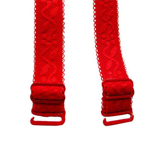 Non-slip Elastic Adjustable Band Bra Strap Shoulder Strap Replacement Back Cl KH