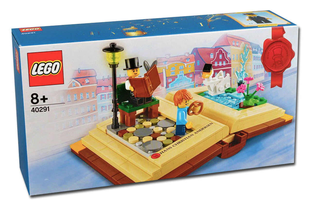 LEGO  40291 - Hans Christian Andersen Creative Storybook   Personalities - NEW