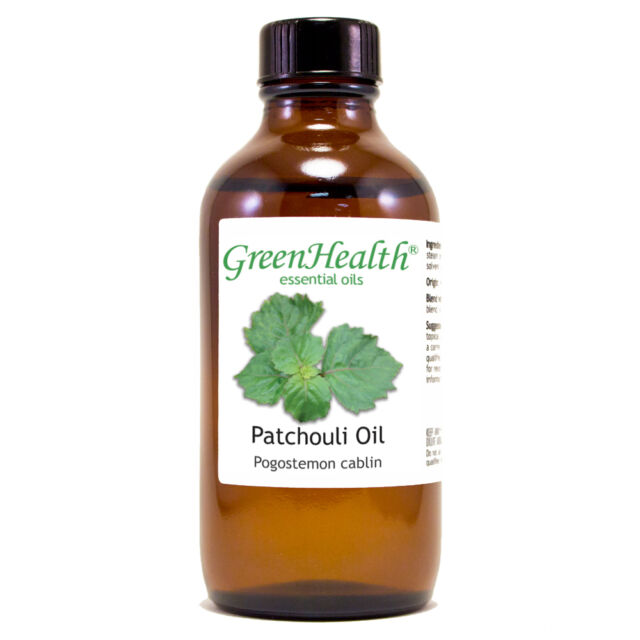 4 fl oz Patchouli Essential Oil (100% Pure & Natural) - GreenHealth
