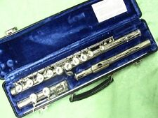 Selmer Nickel Plated Flute-Model 1206-NOS-Made in Elkhart-NIce Player!