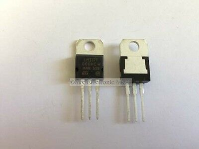 5x LM317 LM317T Medium Positive Adjustable Voltage Regulator 1.2-37V 0.5A TO-220