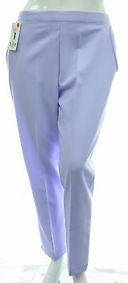 Ladies 10-26 New Pull On Green Stretch Straight Leg Crop Trouser Capris Womens