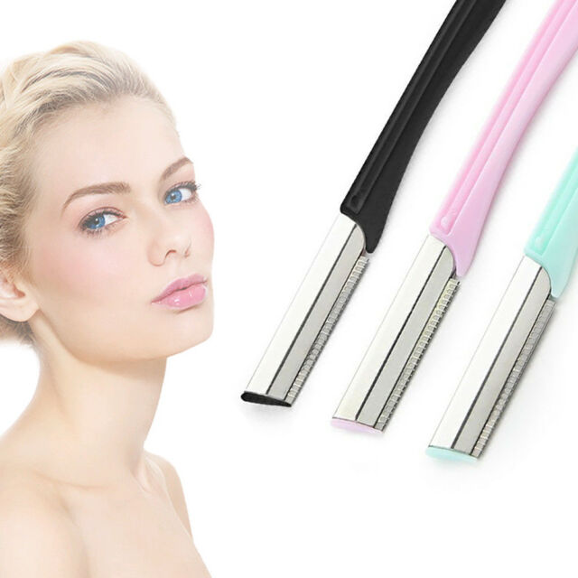 Girl Pro Tinkle Eyebrow Face Razor Trimmer Shaper Shaver Blade Hair Remover Tool