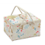 Twin Lid Large Sewing Basket Craft Sewing Box