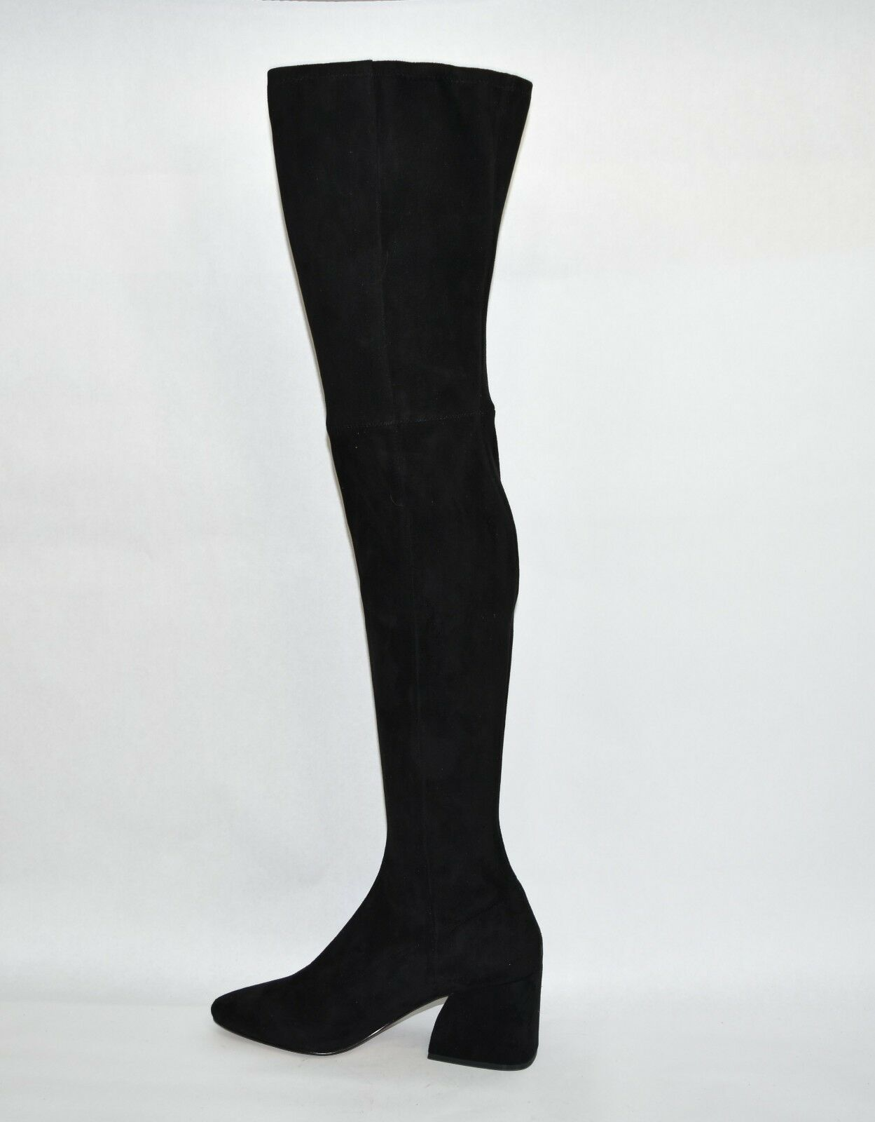New! Dolce Vita Vix Thigh High Boot Black Suede Size 9