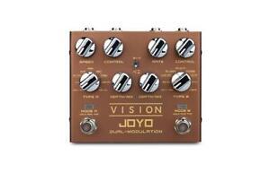 Nouveau Joyo R-09 Visions Dual Modulation Pédale * Usa Vendeur *-afficher Le Titre D'origine