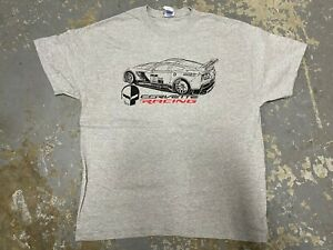 NEW-Chevrolet-Corvette-Racing-C7-R-Promotional-T-Shirt-SZ-XL-Heavy-Cotton