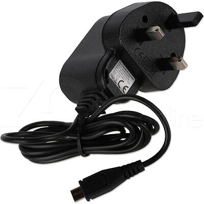 CHARGER FOR TESCO HUDL / 2 TABLET MICRO USB COMPATIBLE UK MAINS WALL PLUG POWER